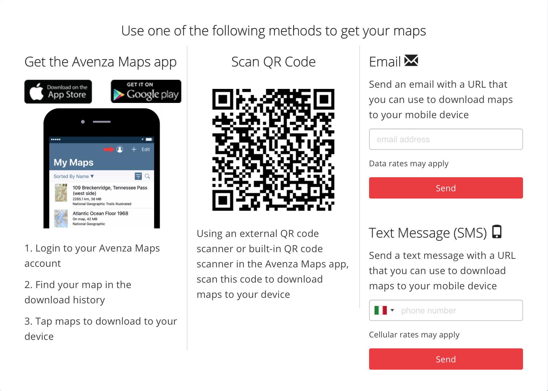 Avenza Mapc – come fare